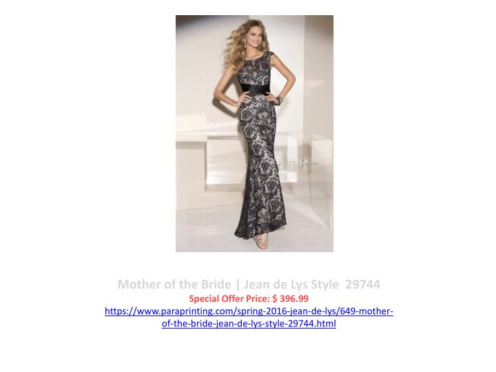 Mother of the Bride | Jean de Lys Style  29744