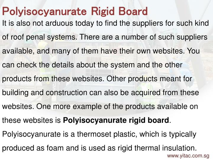 Polyisocyanurate