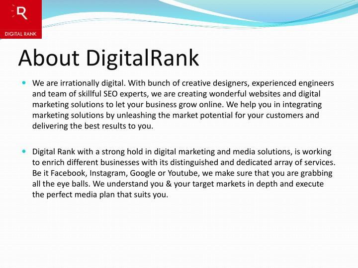 About digitalrank