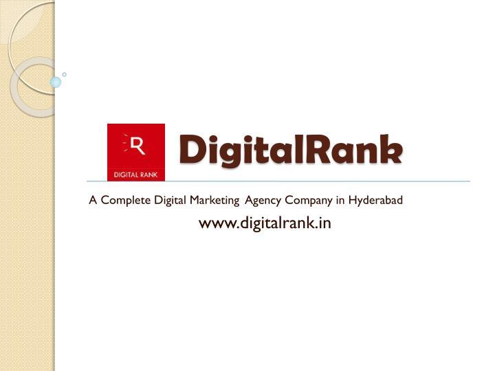 DigitalRank