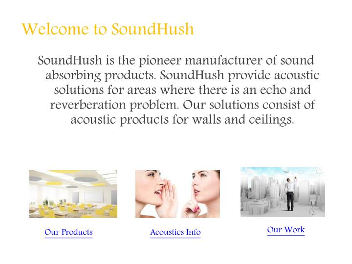 Welcome to soundhush