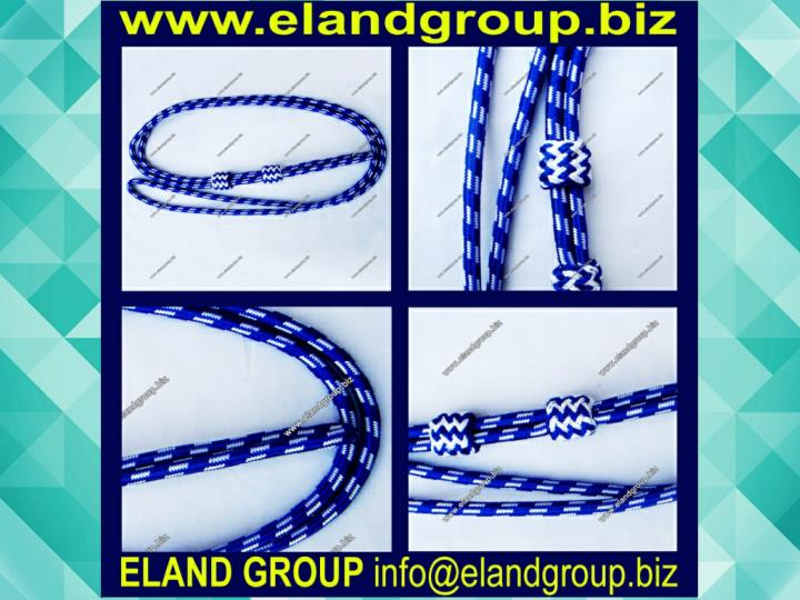 Military corded lanyard army band gold lanyard
