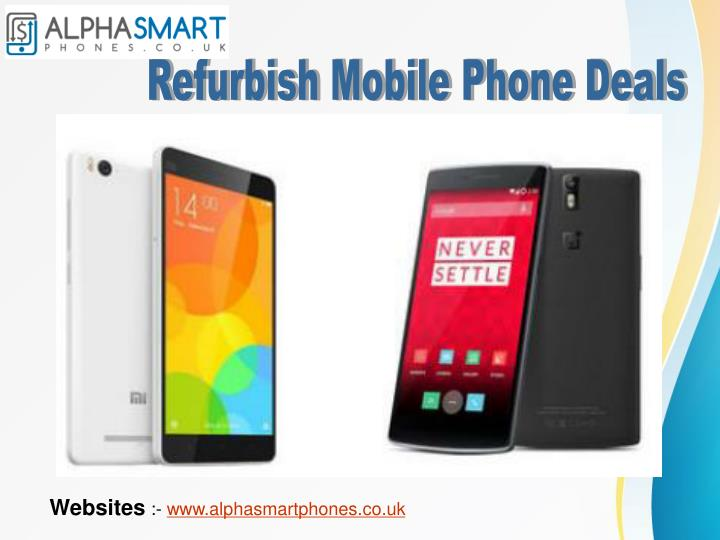 Refurbish Mobile Phone Deals