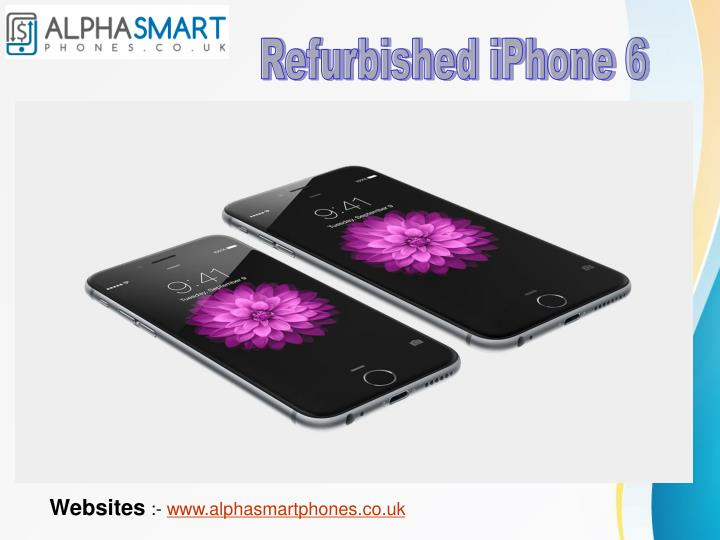 Refurbished iPhone 6