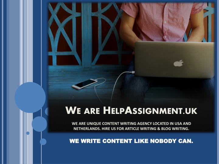 we are helpassignment uk