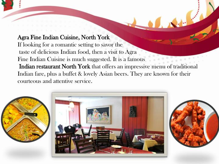 Agra Fine Indian Cuisine, North York