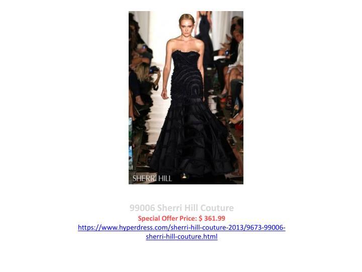 99006 Sherri Hill Couture