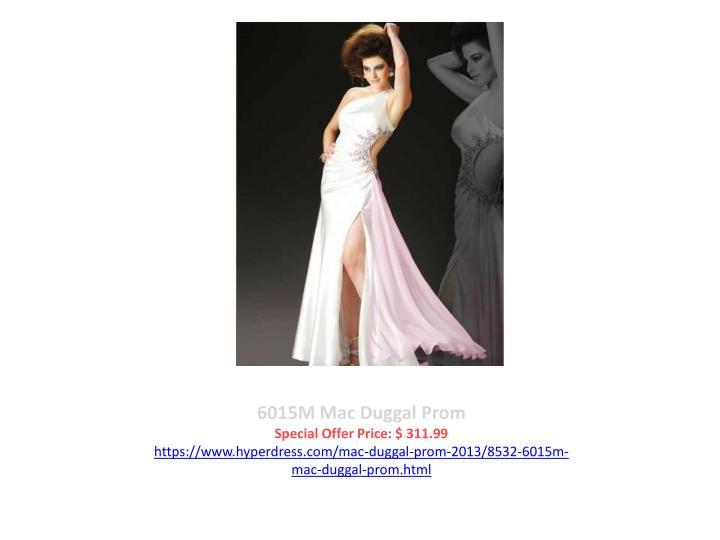 6015M Mac Duggal Prom