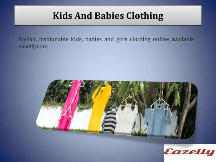 Kids And Babies Clothing