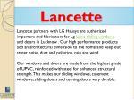 lancette