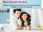 which material is the best