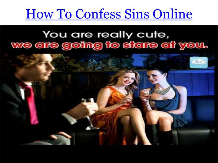 How To Confess Sins Online