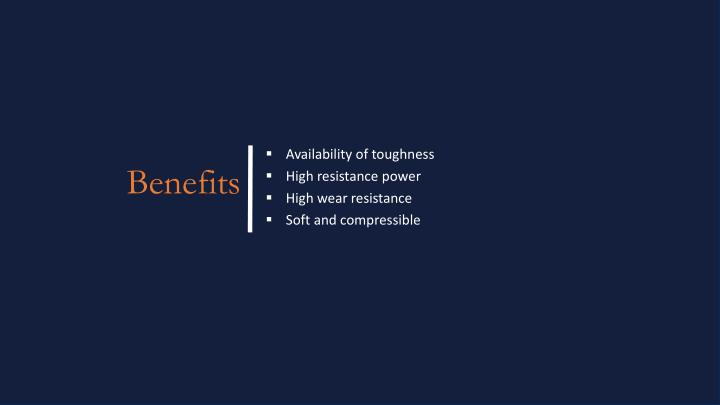 Availability of toughness