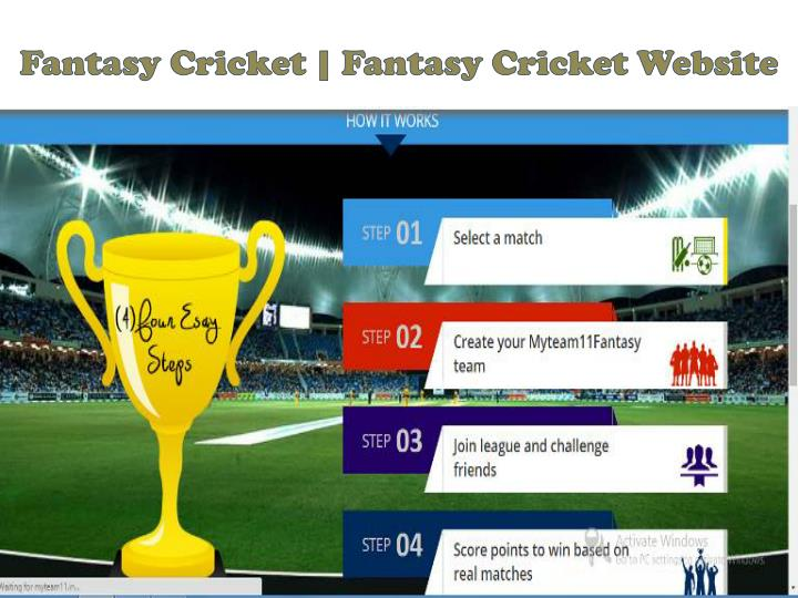 Fantasy cricket fantasy cricket website