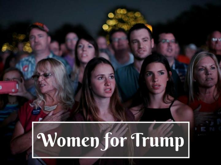 Ladies for trump