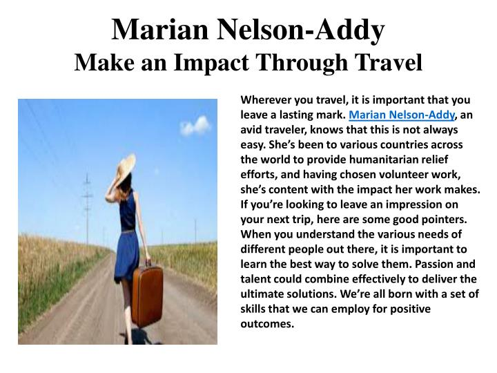 Marian Nelson-Addy