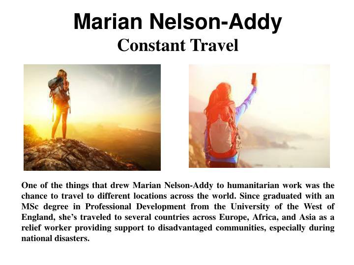 Marian Nelson-Addy