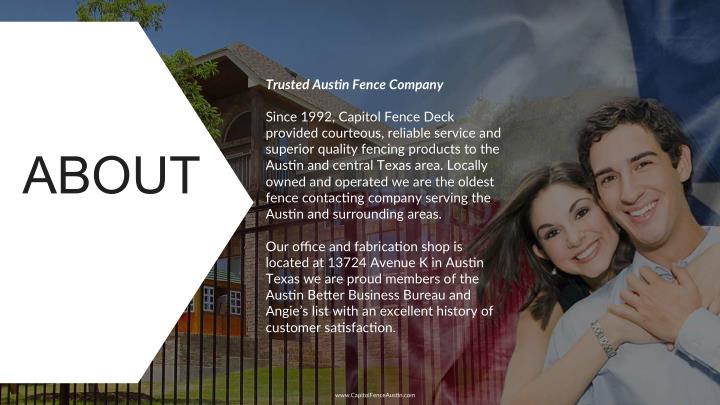 Trusted Aus*n Fence Company