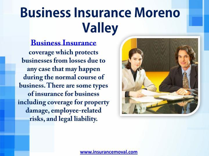 Business Insurance Moreno