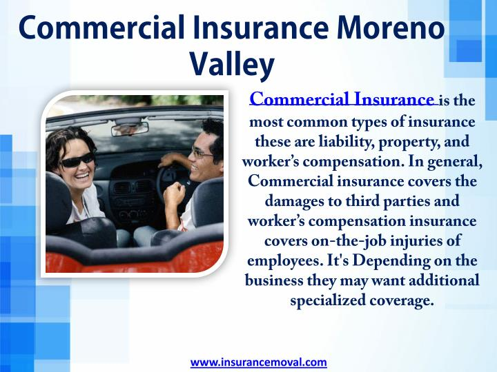 Commercial Insurance Moreno