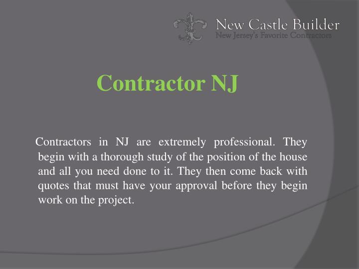 Contractor NJ