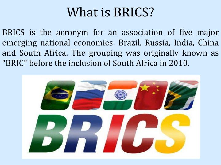 What is BRICS?