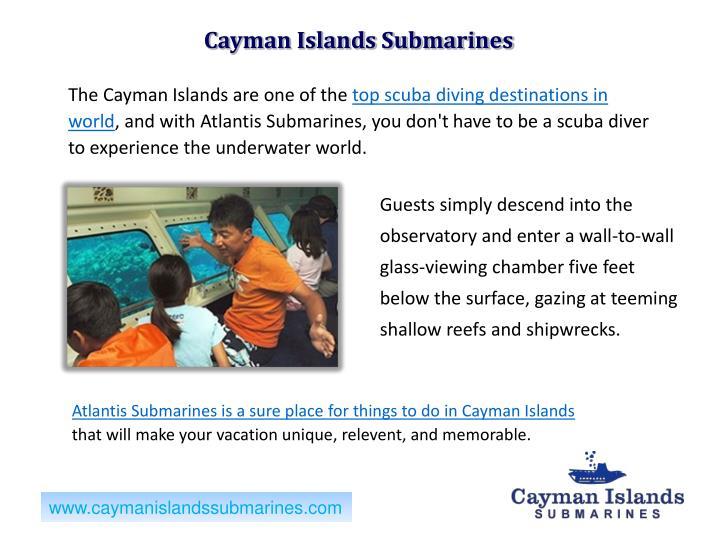 Cayman Islands Submarines