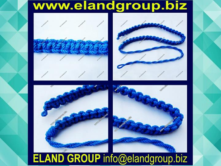 Navy uniform lanyard
