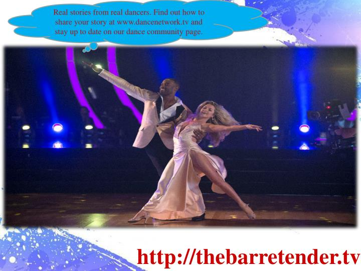 Real stories from real dancers. Find out how to share your story at www.dancenetwork.tv and stay up ...