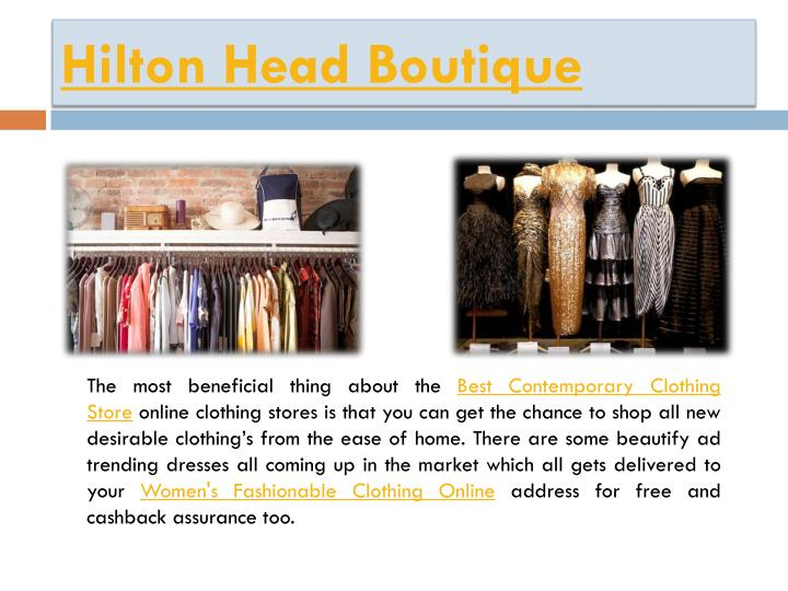 Hilton Head Boutique