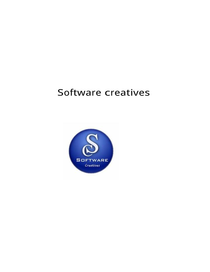 S oftware c reatives