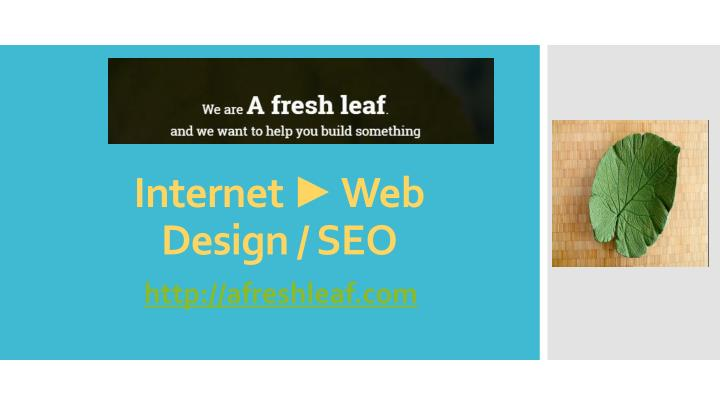 Internet web design seo