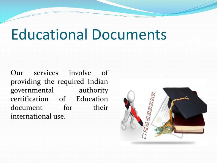 Educational documents