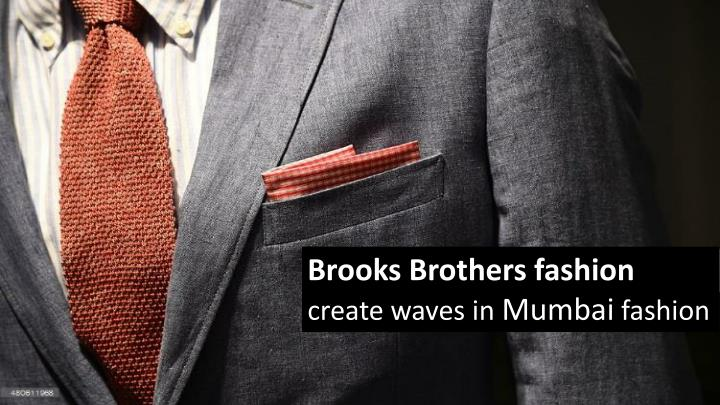 Brooks Brothers fashion