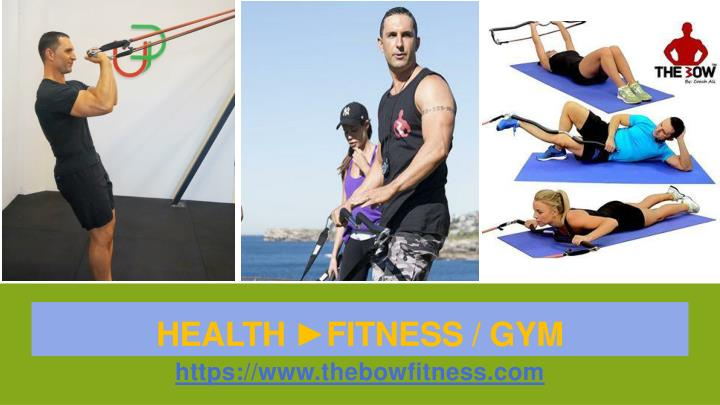 Health fitness gym