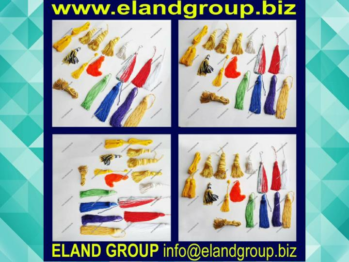 Graduation silk tassels supplier