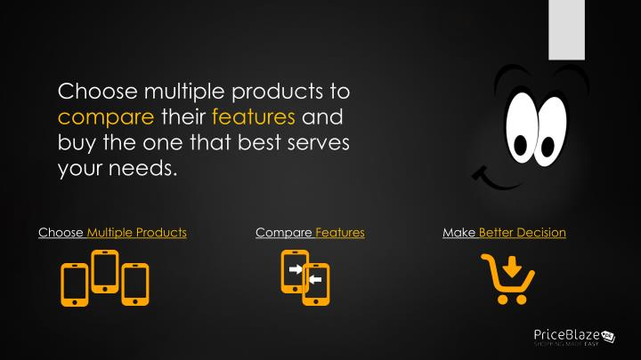 Choose multiple products to