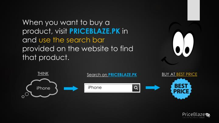 When you want to buy a product, visit