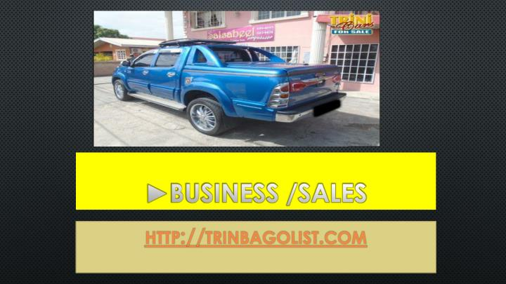 ►Business /Sales