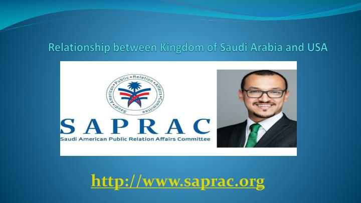 Relationship between kingdom of saudi arabia and usa