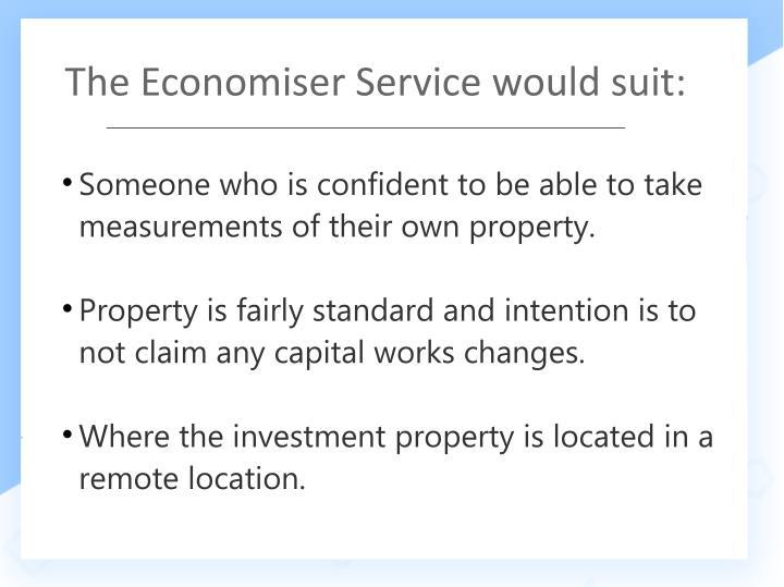 The Economiser Service would suit: