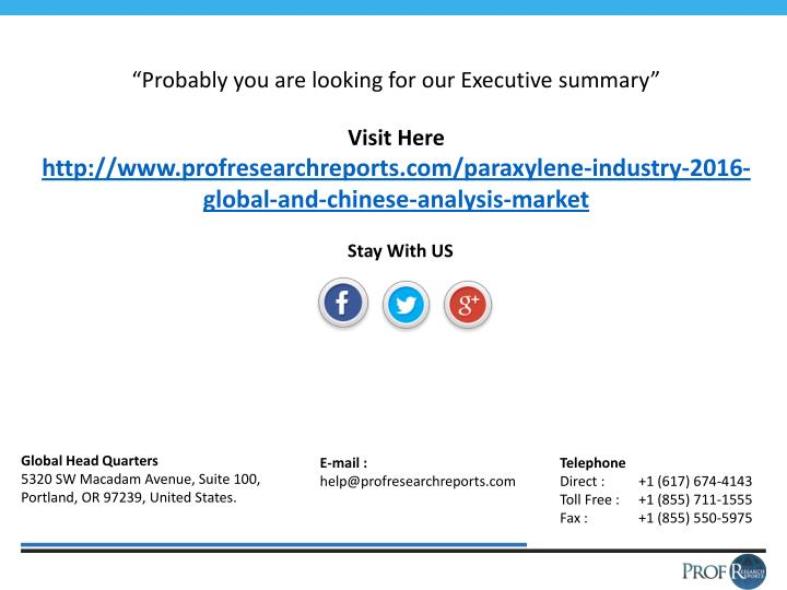 """""""Probably you are looking for our Executive summary"""""""