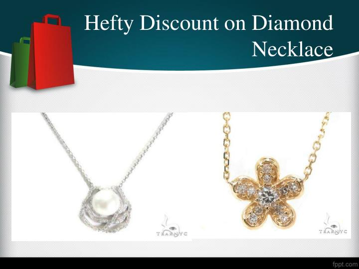 Hefty Discount on Diamond Necklace