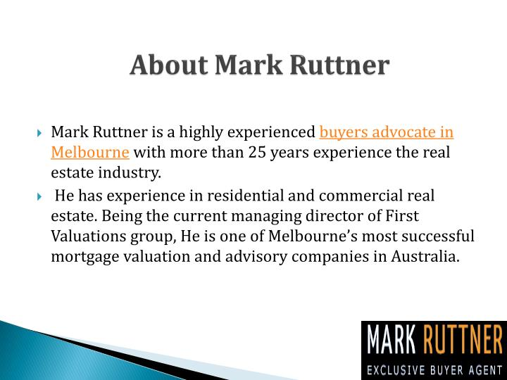 About mark ruttner