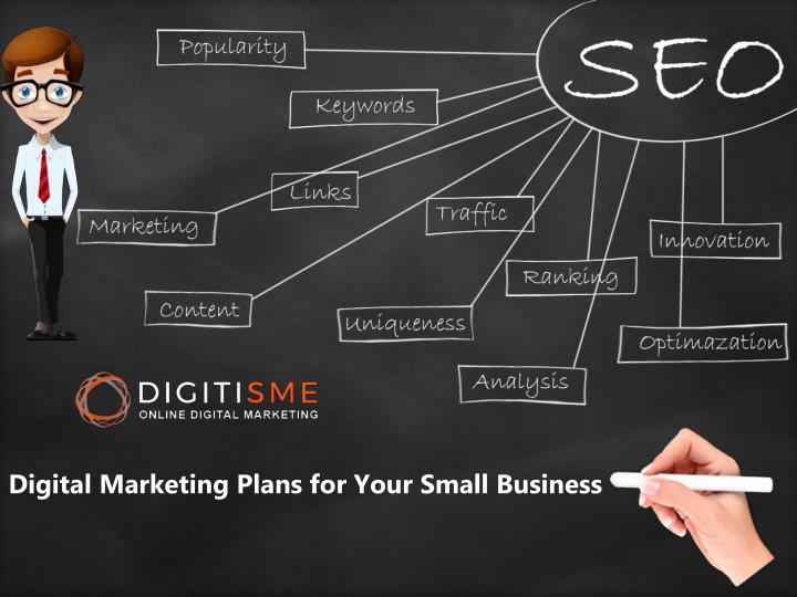Digital Marketing Plans for Your Small Business