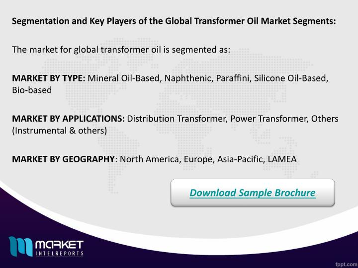 Segmentation and Key Players of the Global Transformer Oil Market Segments: