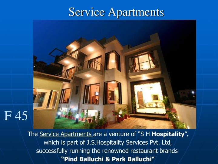 Service apartments