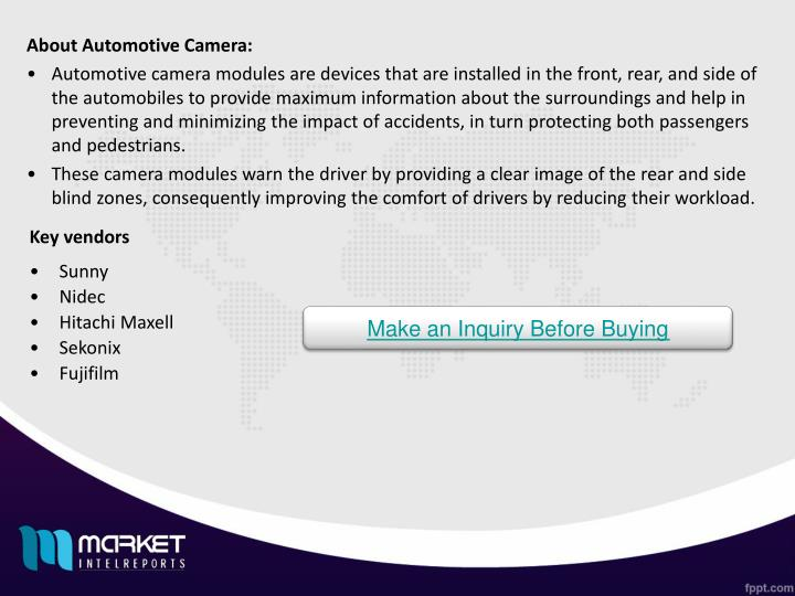 About Automotive Camera: