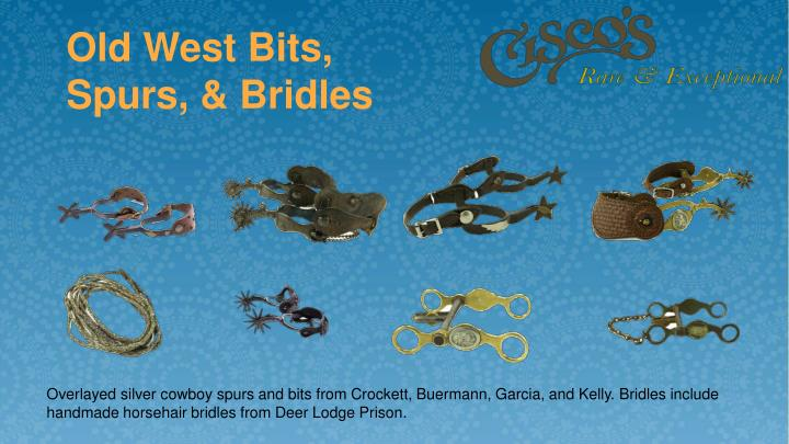 Old West Bits, Spurs, & Bridles
