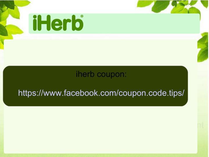 iherb coupon: